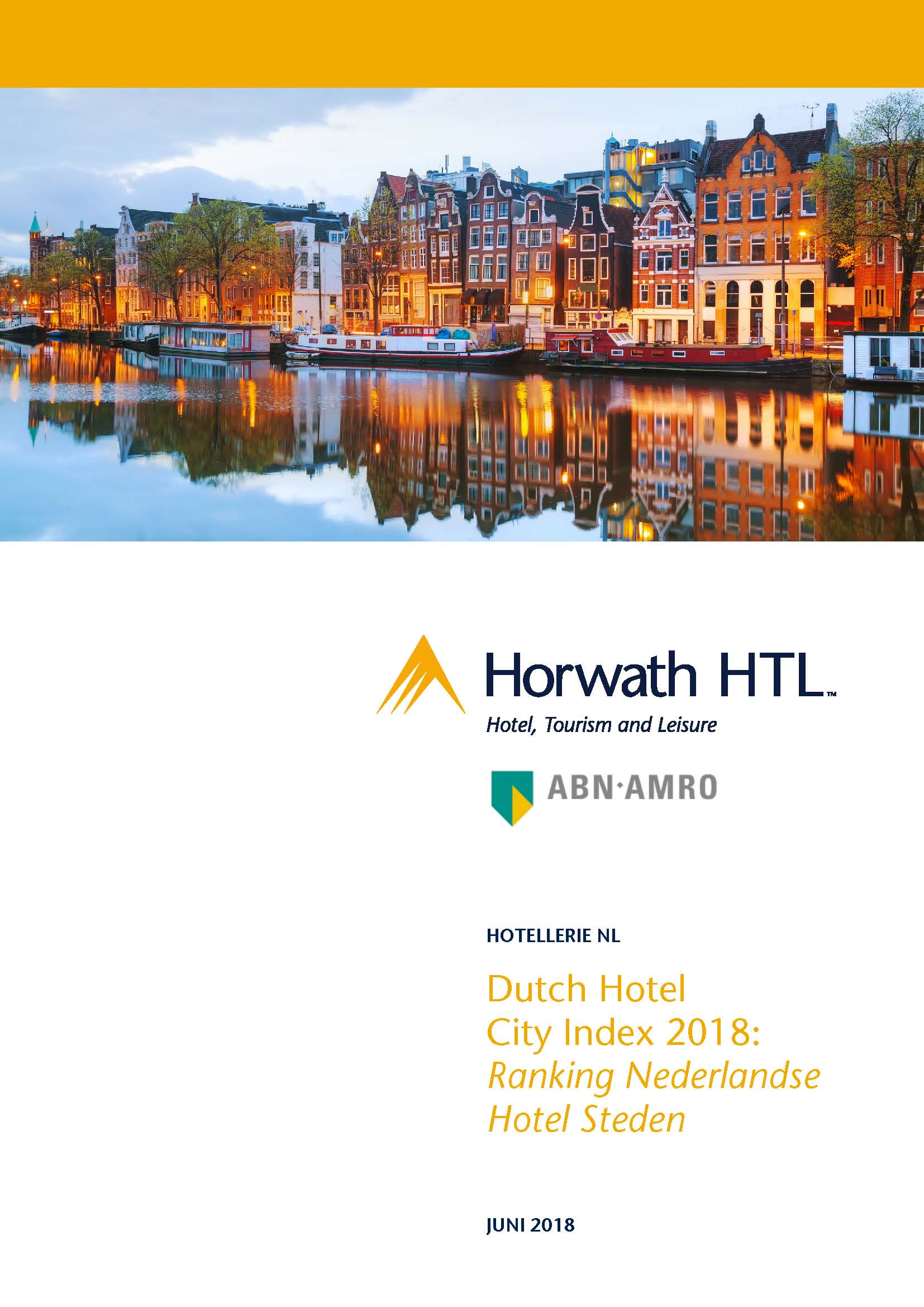 Rapport: Dutch Hotel City Index 2018