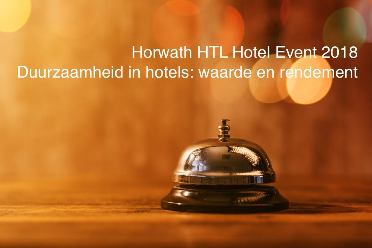 Press release HOSTA 2018: Record profits for Dutch hotels
