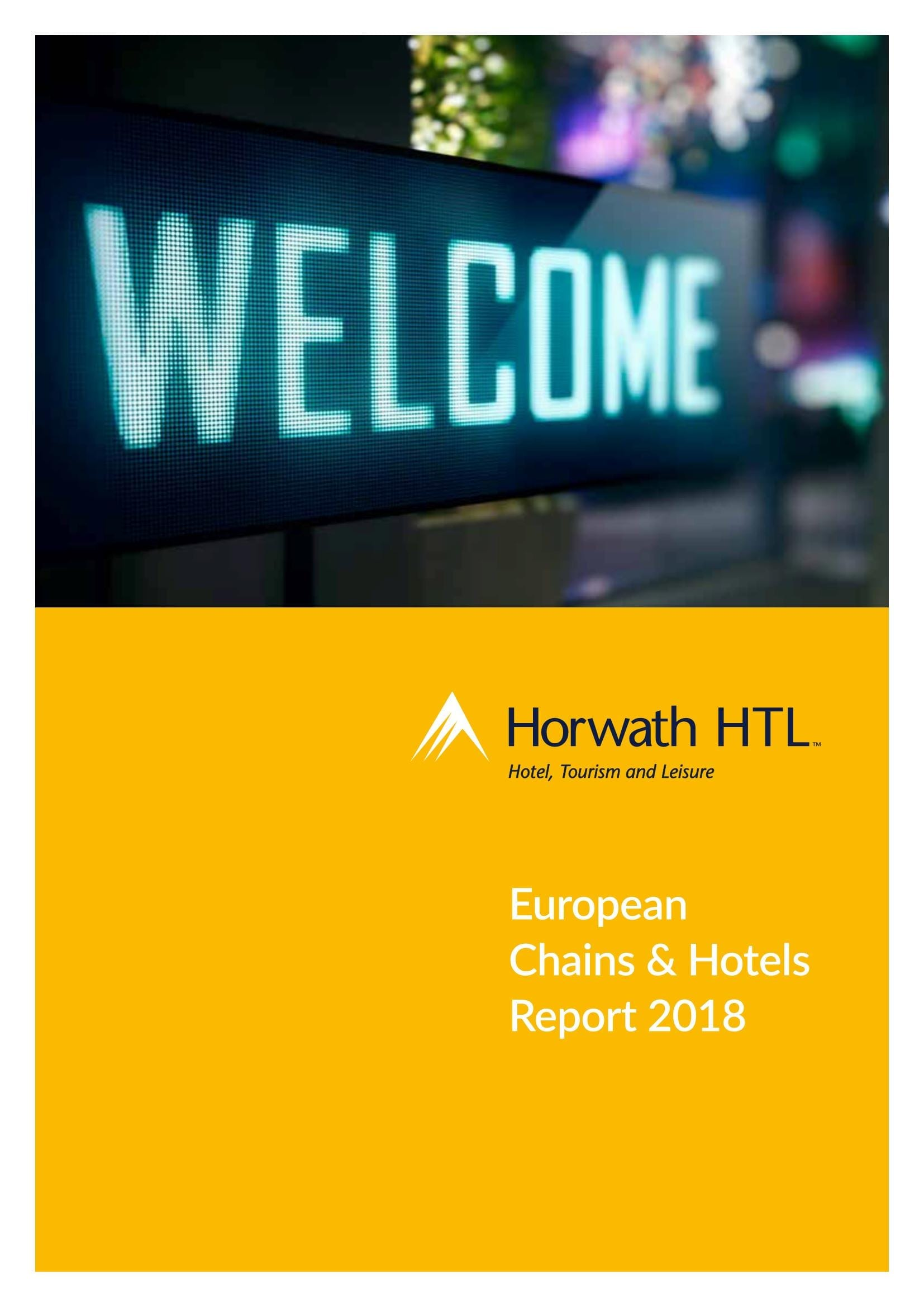 European Chains & Hotels Report 2018