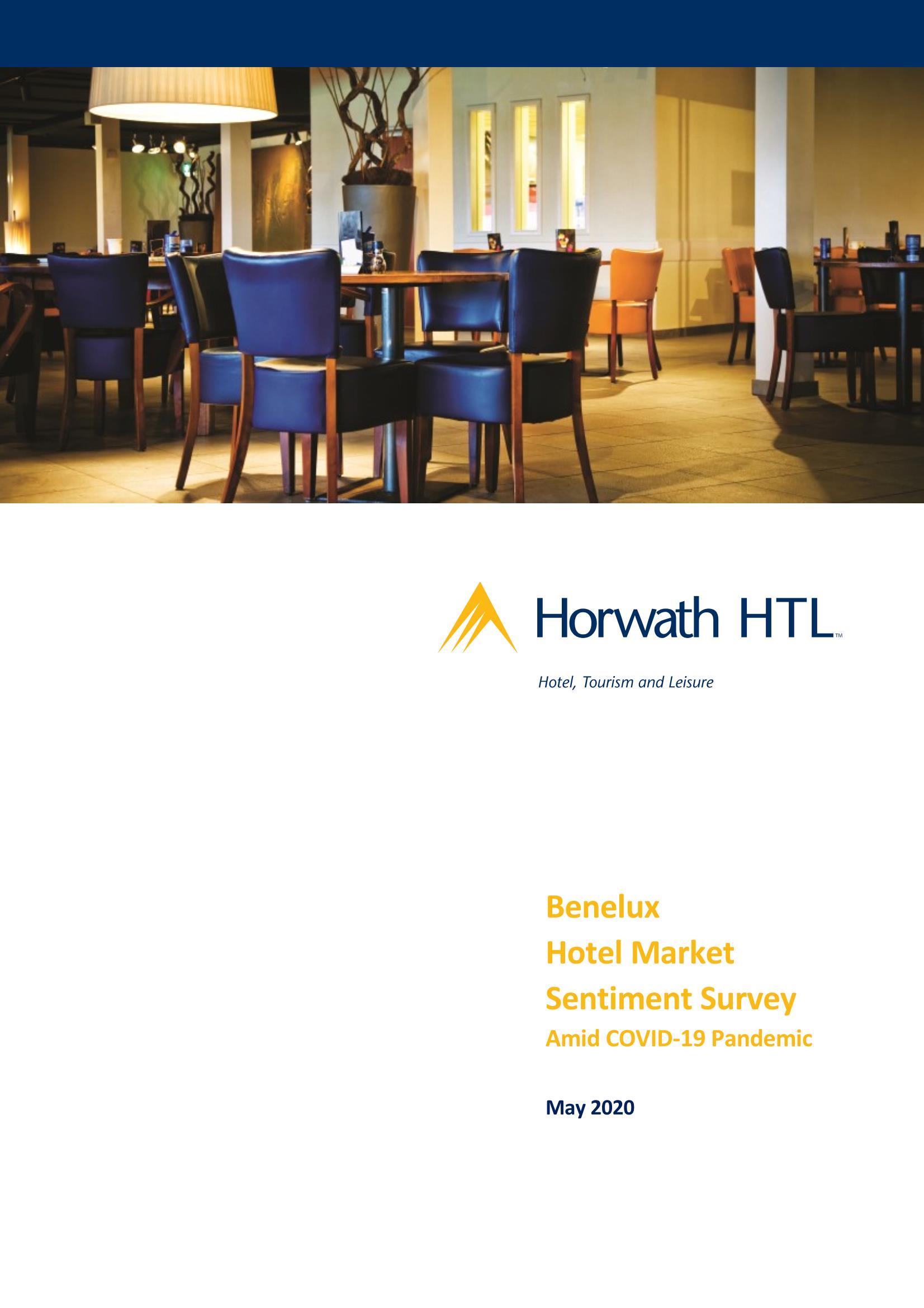 Benelux Hotel Market Sentiment Survey – Impact coronacrisis