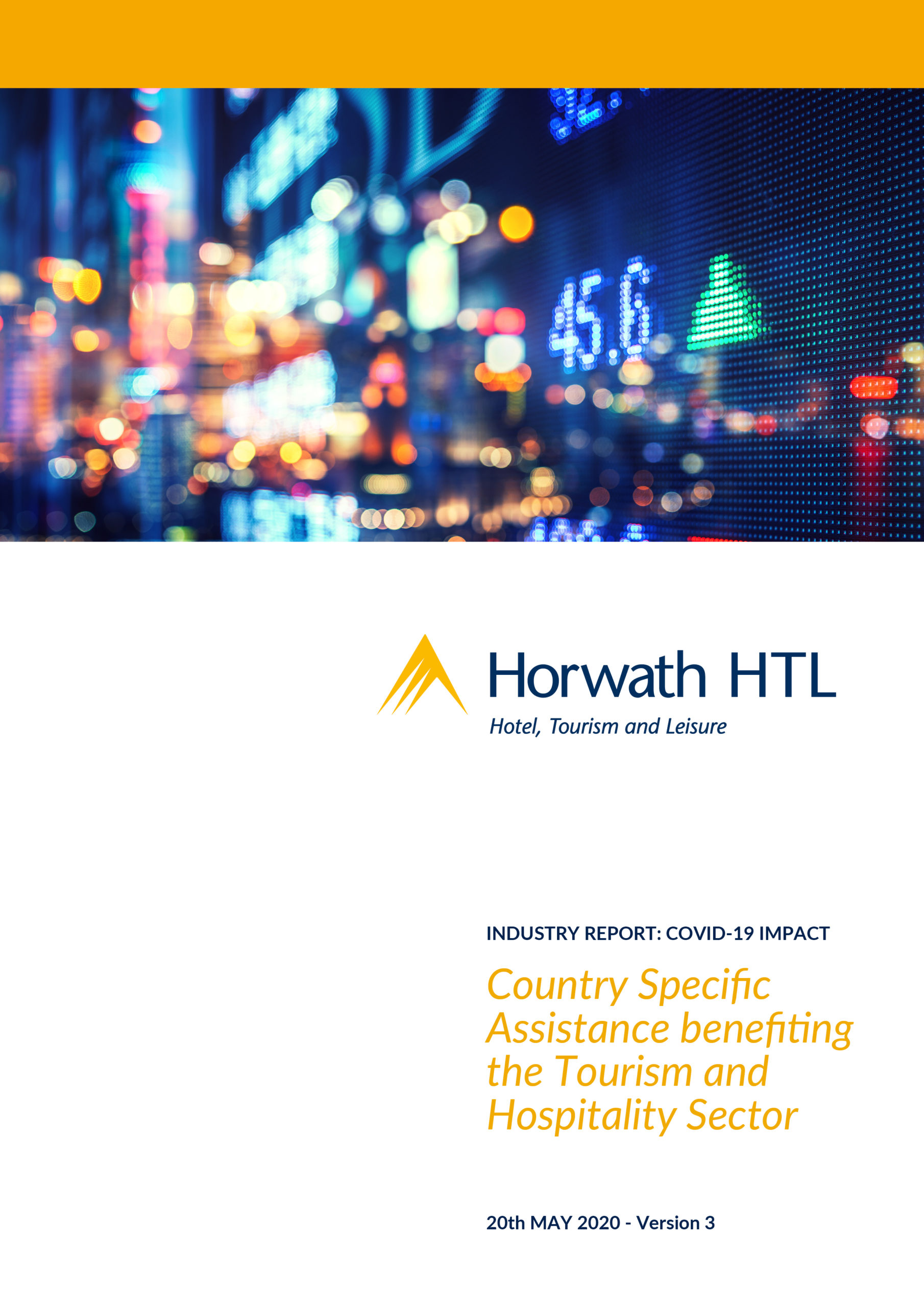 Updated! Tourism & Hospitality Sector Assistance (V.3)