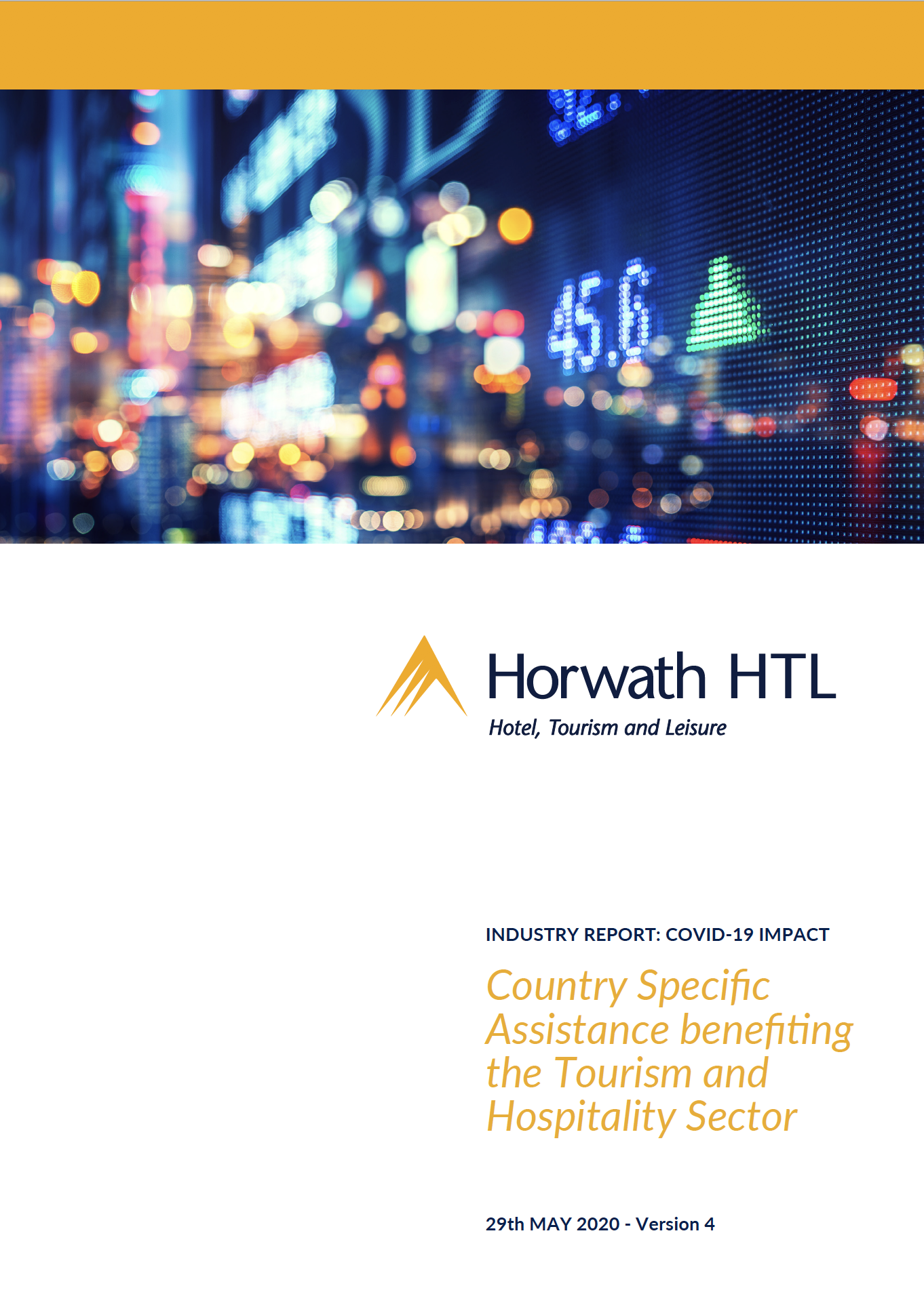 Updated! Tourism & Hospitality Sector Assistance (V.4)