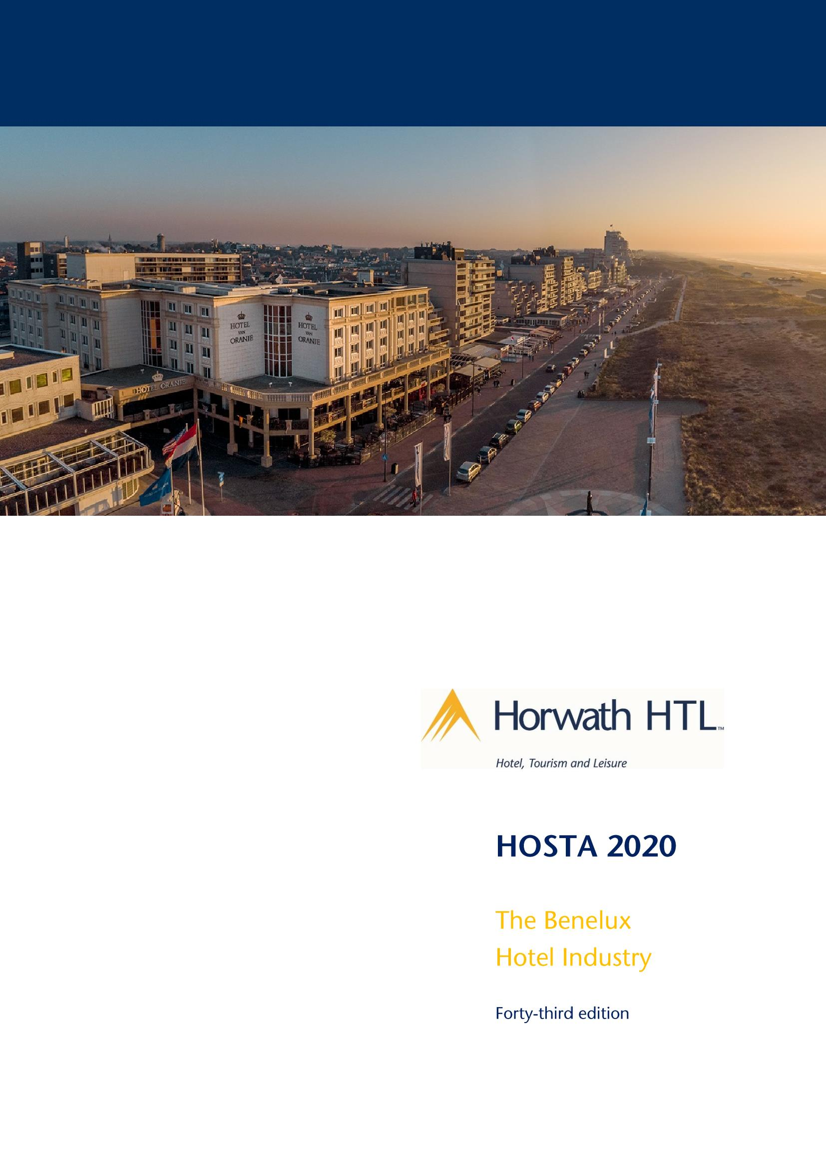 Report: HOSTA 2020 – The Benelux Hotel Industry