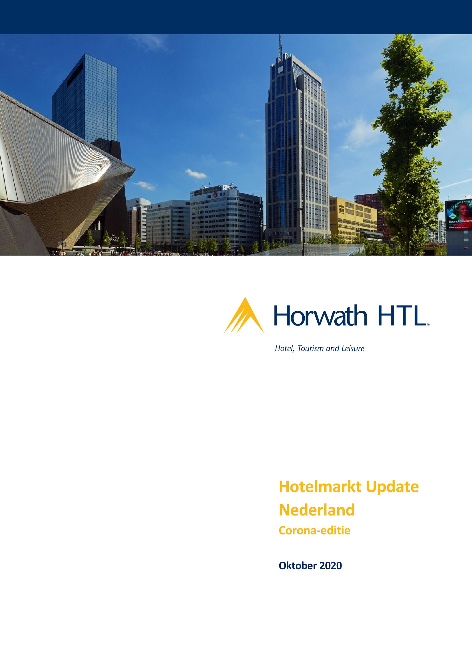 Hotelmarkt Update Nederland – Corona-editie